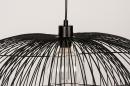 Plafondlamp 14235: modern, metaal, zwart, mat #15