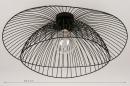 Plafondlamp 14235: modern, metaal, zwart, mat #17