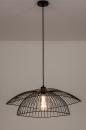 Plafondlamp 14235: modern, metaal, zwart, mat #6