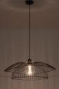 Plafondlamp 14235: modern, metaal, zwart, mat #7