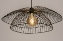 Plafondlamp 14235: modern, metaal, zwart, mat #8