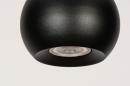 Hanglamp 14251: modern, retro, metaal, zwart #10
