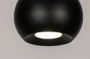 Hanglamp 14251: modern, retro, metaal, zwart #9