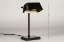 Tafellamp 14264: landelijk, rustiek, modern, eigentijds klassiek #1