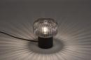 Tafellamp 14266: modern, retro, art deco, glas #2