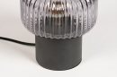 Tafellamp 14266: modern, retro, art deco, glas #5