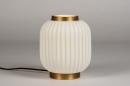 Tafellamp 14267: modern, eigentijds klassiek, art deco, metaal #3