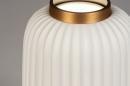 Tafellamp 14268: modern, eigentijds klassiek, art deco, metaal #4
