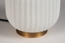 Tafellamp 14268: modern, eigentijds klassiek, art deco, metaal #6