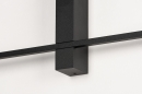 Wandlamp 14272: modern, aluminium, metaal, zwart #11