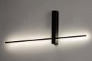 Wandlamp 14272: modern, aluminium, metaal, zwart #2