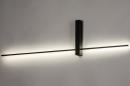 Wandlamp 14273: modern, aluminium, metaal, zwart #2