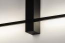 Wandlamp 14273: modern, aluminium, metaal, zwart #8