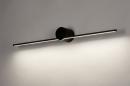 Wandlamp 14274: design, modern, aluminium, zwart #2
