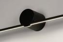 Wandlamp 14274: design, modern, aluminium, zwart #6