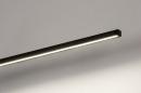 Wandlamp 14274: design, modern, aluminium, zwart #8