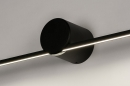 Wandlamp 14275: design, modern, aluminium, zwart #6