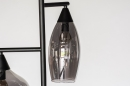 Vloerlamp 14292: modern, retro, eigentijds klassiek, glas #12