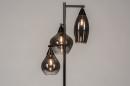 Vloerlamp 14292: modern, retro, eigentijds klassiek, glas #3