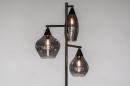 Vloerlamp 14292: modern, retro, eigentijds klassiek, glas #4