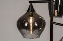 Vloerlamp 14292: modern, retro, eigentijds klassiek, glas #9