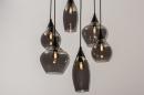 Hanglamp 14295: modern, eigentijds klassiek, art deco, glas #4