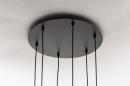 Hanglamp 14295: modern, eigentijds klassiek, art deco, glas #8