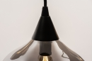 Hanglamp 14295: modern, eigentijds klassiek, art deco, glas #9