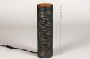 Tafellamp 14328: landelijk, rustiek, modern, eigentijds klassiek #1