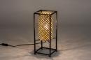 Tafellamp 14330: modern, metaal, zwart, mat #2