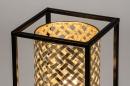 Tafellamp 14330: modern, metaal, zwart, mat #6