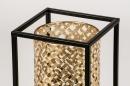 Tafellamp 14330: modern, metaal, zwart, mat #7