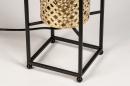 Tafellamp 14330: modern, metaal, zwart, mat #8