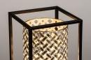 Tafellamp 14331: landelijk, rustiek, modern, metaal #6