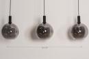 Hanglamp 14332: modern, retro, glas, metaal #1