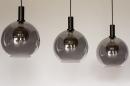 Hanglamp 14332: modern, retro, glas, metaal #10