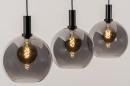 Hanglamp 14332: modern, retro, glas, metaal #2