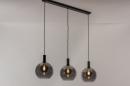 Hanglamp 14332: modern, retro, glas, metaal #3