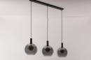Hanglamp 14332: modern, retro, glas, metaal #4