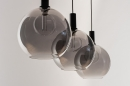 Hanglamp 14332: modern, retro, glas, metaal #5