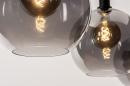 Hanglamp 14332: modern, retro, glas, metaal #8