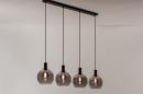 Hanglamp 14333: modern, retro, glas, metaal #10