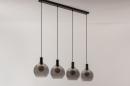 Hanglamp 14333: modern, retro, glas, metaal #11