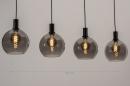 Hanglamp 14333: modern, retro, glas, metaal #12
