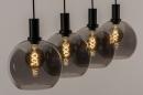 Hanglamp 14333: modern, retro, glas, metaal #2