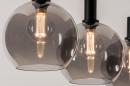 Hanglamp 14333: modern, retro, glas, metaal #4