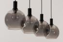 Hanglamp 14333: modern, retro, glas, metaal #6