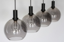 Hanglamp 14333: modern, retro, glas, metaal #7