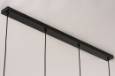 Hanglamp 14333: modern, retro, glas, metaal #9