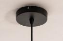 Hanglamp 14334: modern, retro, eigentijds klassiek, glas #8
